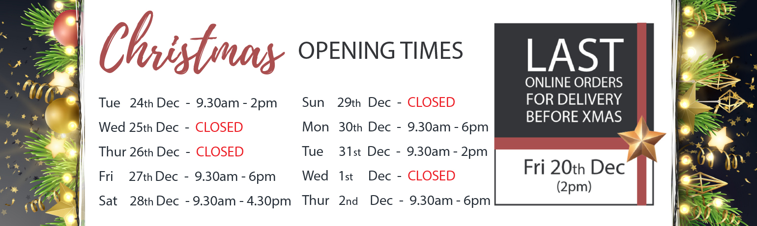 Christmas Opening Time 2019