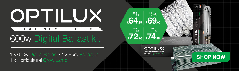 Price breaks on quantity for Optilux 600w Digital Light kits