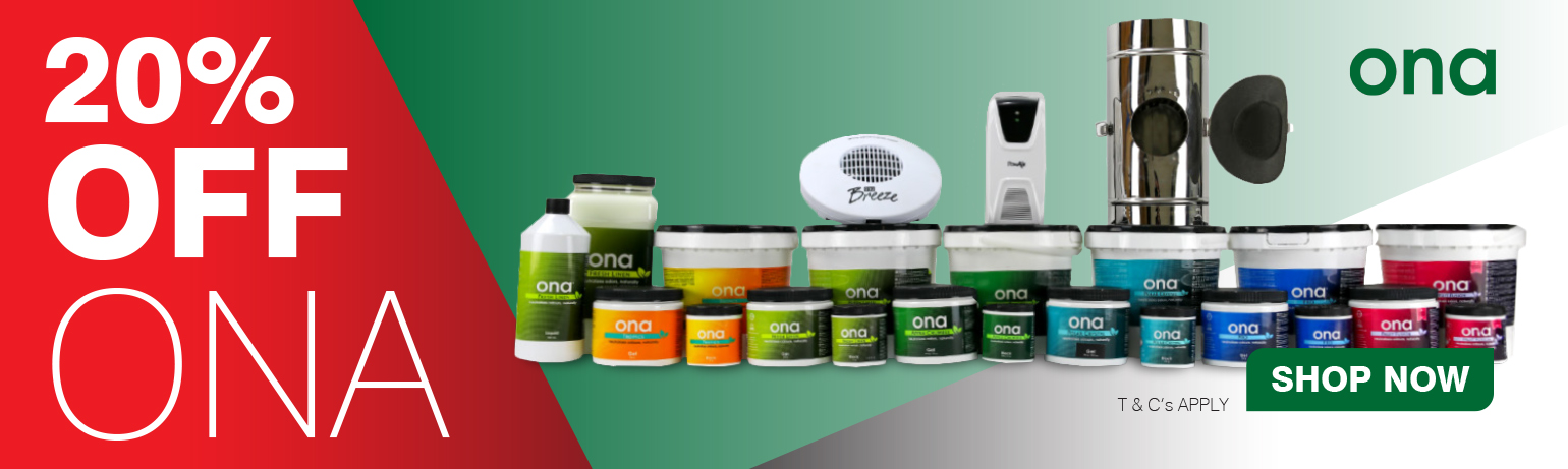 20% OFF ALL ONA Products For a Limited Time Only