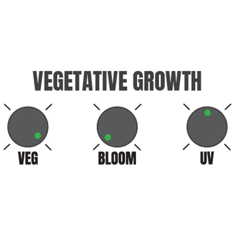 Hellion VS3 LED suggested vegetation settings