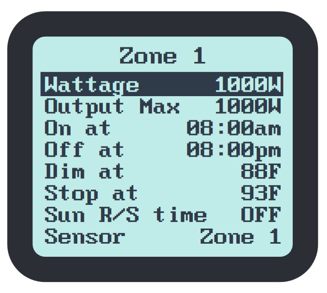 Clear DLI DLM controller display